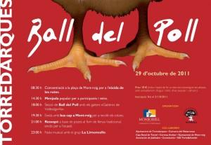 Cartell Ball del poll 2011 Torredarques