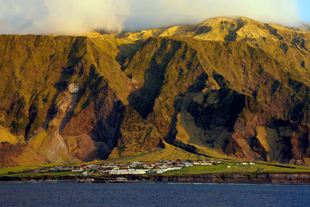 La capital de Tristan da Cunha, Edinburgh of the Seven Seas
